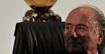 Sepp Blatter Plays Politics in the Shadows. Photo Credit: Wikimedia Commons (Marcello Cassar Jr./ABr) Creative Commons