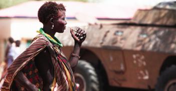 South Sudan's Civil War. Photo Credit: Flickr (Steve Evans) Creative Commons.