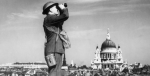 A man scans the sky for German planes during the Battle of Britain. Photo Credit: Wikimedia Commons (ZoomMedia) Creative Commons.