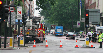 The London bombings on July the 7th 2005 blew up a double decker bus in Tavistock. Photo Credit: Flickr (Jez) Creative Commons.