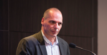 The exit of Greek Finance Minister Yanis Varoufakis is not the solution to the EUs problems. Photo Credit: Flickr (Brookings Institute) Creative Commons.