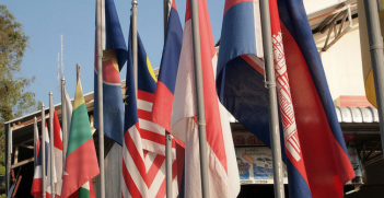 ASEAN Flags. Photo Source: Prachatai (Flickr). Creative Commons