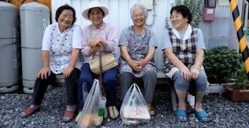 Elderly Japanese Women. Photo Source: Mr Hicks46 (Flickr) Creative Commons