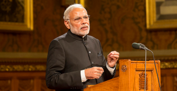 The Prime Minister of India visits UK Parliament. Photo Source: UK Parliament (Flickr). Creative Commons.