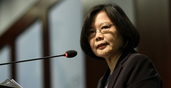 Tsai Ing-wen 2016: Taiwan Faces the Future. Photo Source: CSIS | Center for Strategic and International Studies (Flickr). Creative Commons.
