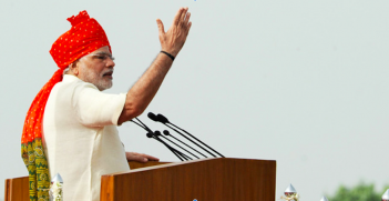 Indian Prime Minister Narendra Modi. Photo source: Narendra Modi (Flickr). Creative Commons.