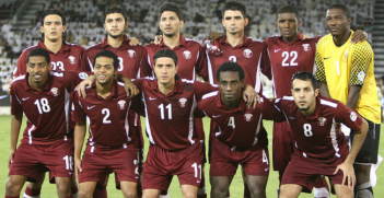 Qatar national team in 2011 during the 2014 FIFA World Cup qualifying rounds. Photo Source: Wikimedia. Creative Commons.
