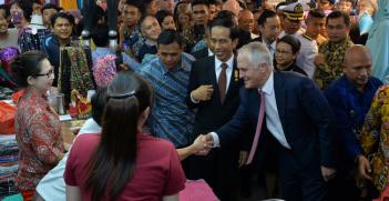Prime Minister Malcolm Turnbull visits Jakarta. Photo Source: Australian Embassy in Jakarta (Flickr). Creative Commons.
