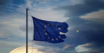 EU flag. Photo source: Theophilos Papadopoulos (Flickr). Creative Commons.