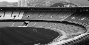 Maracanã, Rio de Janeiro's Olympic Stadium. Photo source: Marino Gonzalez (Flickr). Creative Commons.