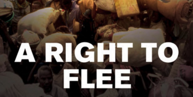 A Right to Flee, by Phil Orchard.