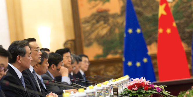 EU-China Summit in 2013. Photo source: Herman Van Rompuy (Flickr). Creative Commons.