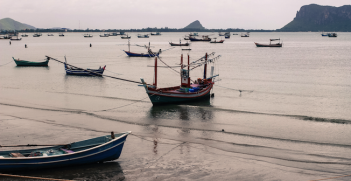 Fishery in Prachuap Khiri Khan, Thailand. Photo source: Ratta Benmart (Flickr). Creative Commons.