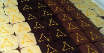 NSS-themed chocolates. Photo source: Karen Melchior (Flickr). Creative Commons.