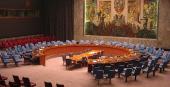 UN Security Council in New York. Photo source: Scott Garner (Flickr). Creative Commons.