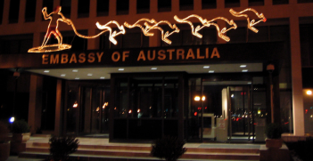 The Embassy of Australia in Washington D.C. Photo source: Ryan Orr (Flickr). Creative Commons.