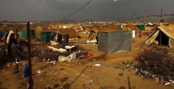 Mazrak Camp, North West Yemen. Photo source: IRIN Photos (Flickr). Creative Commons.