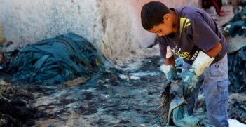 Child labourer Photo credit: Alexander Montuschi (Flickr) Creative Commons