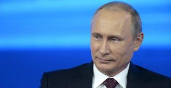 Russia President Vladimir Putin. Photo Credit: http://en.kremlin.ru/events/president/news/20796 (Google Images)     Creative Commons