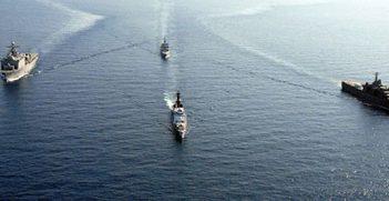 US Naval Ships in South China Sea