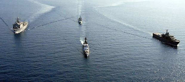US Naval Ships in South China Sea