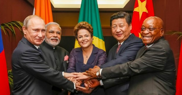 BRICS leaaders in 2014. Photo credit: By Roberto Stuckert Filho [CC BY 3.0 br (http://creativecommons.org/licenses/by/3.0/br/deed.en)], via Wikimedia Commons