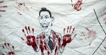 Tony Blair poster. Photo credit; Jasn (Flickr) Creative Commons