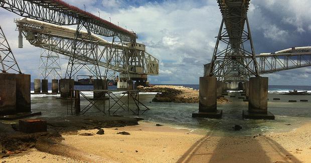 Nauru_phosphate. Photo Credit: Sean Kelleher (Flickr) Creative Commons