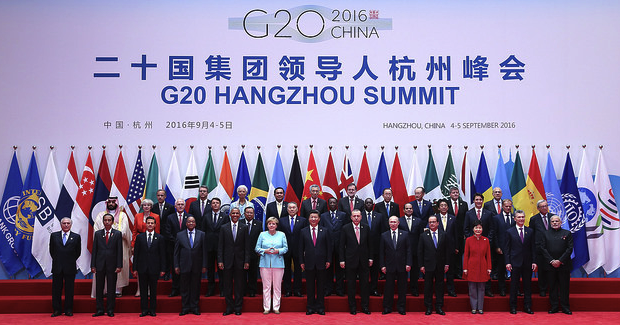 G20_Hangzhou. Photo Credit: OECD (Flickr) Creative Commons