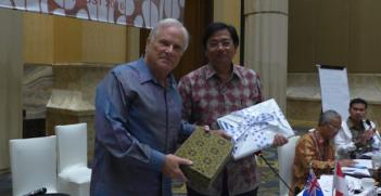 John McCarthy at Indonesia-Australia Dialogue 2016. Photo Credit: Melissa Conley Tyler