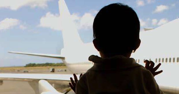 Airport_child. Photo Credit: US State Department (Wikimedia Commons) Creative Commons