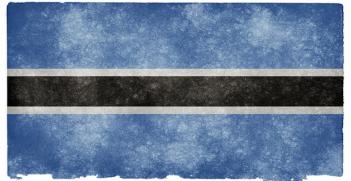 Botswana_flag. Photo Credit: Nicolas Raymond (flickr) Creative Commons
