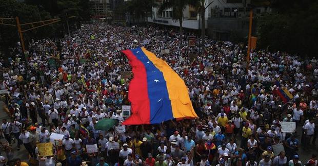 Venezuela_opposition. Photo Credit: Marquinam (Flickr) Creative Commons