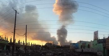 Yemen_airstrike. Photo Credit: Ibrahem Qasim (Flickr) Creative Commons