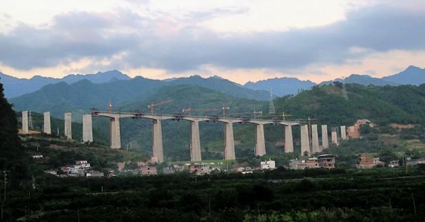 China Bridge. Photo Credit: Billyshanenunn (Wikipedia) Creative Commons