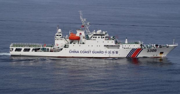 China Coast Guard. Photo Credit: Indian Navy (Wikimedia Commons) Creative Commons