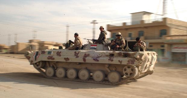 IraqiTank. Photo Credit: Spc  Jeffrey Alexander US Army (Wikimedia Commons) Creative Commons
