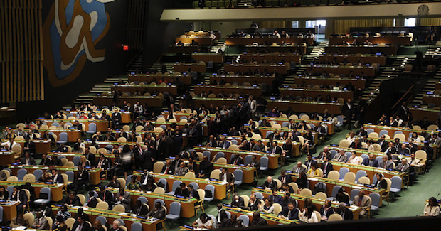 UNGA. Photo Credit: UK Mission to the UN (Flickr) Creative Commons