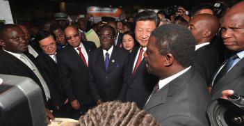 Mugabe and Xi. Photo Credit: GovernmentZA (Flickr) Creative Commons