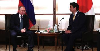 Putin-Abe_ Meeting. Photo Credit: The Kremlin, Creative Commons