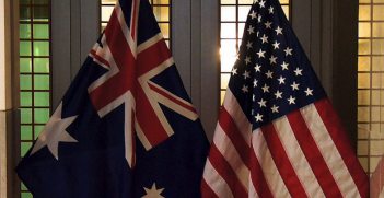 US-Australia Flags. Photo Credit: Ted Eytan (Flickr) Creative Commons
