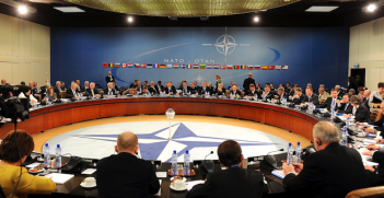 NATO Meeting Photo Credit: US Department of Defense (Wikimedia Commons) Creative Commons