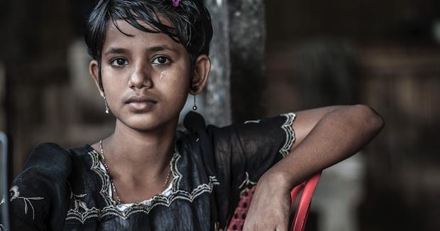 Rohingya Girl Photo Credit: Steve Gumaer (Flickr) Creative Commons