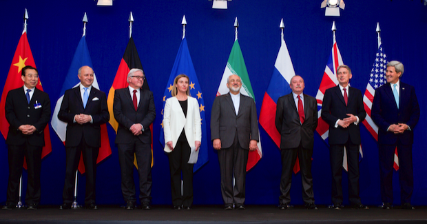 Iran Deal signatories Photo Credit: US Department of State (Wikimedia Commons) Creative Commons