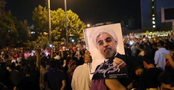 Rouhani Supporters Photo Credit: Meghdad Madadi (Wikimedia Commons) Creative Commons