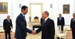 Bashar al-Assad and Vladimir Putin Photo Credit: Dept. of the President, Kremlin (en.kremlin.ru) Creative Commons