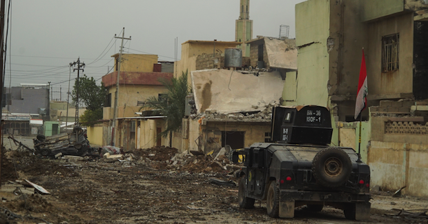 Streets of Mosul Photo Credit: Mstyslav Chernov (Wikimedia Commons) Creative Commons