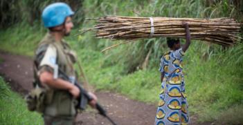 Peacekeeper in Congo Photo Credit: UN Photo/Sylvain Liechti (Flickr) Creative Commons