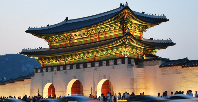 14th c. Kyung Bok Palace in Seoul. Photo credit: Diocese of Salford, Creative Commons.