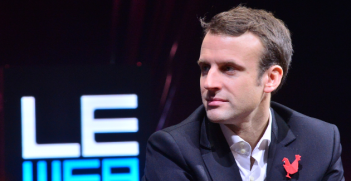 Emmanuel Macron Photo Credit: Official LeWeb Photos (Flickr) Creative Commons
